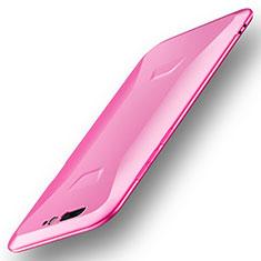 Xiaomi Black Shark用極薄ソフトケース シリコンケース 耐衝撃 全面保護 S01 Xiaomi ピンク