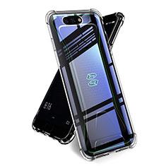 Xiaomi Black Shark用極薄ソフトケース シリコンケース 耐衝撃 全面保護 クリア透明 T02 Xiaomi クリア