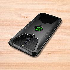 Xiaomi Black Shark Helo用シリコンケース ソフトタッチラバー ツイル カバー Xiaomi ブラック