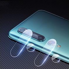 Xiaomi Mi 10用強化ガラス カメラプロテクター カメラレンズ 保護ガラスフイルム C02 Xiaomi クリア