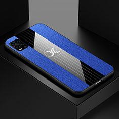 Xiaomi Mi 10 Lite用極薄ソフトケース シリコンケース 耐衝撃 全面保護 S01 Xiaomi ネイビー