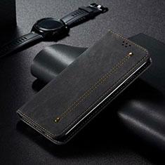 Xiaomi Mi 10 Pro用手帳型 レザーケース スタンド カバー T06 Xiaomi ブラック