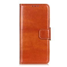 Xiaomi Mi 10 Ultra用手帳型 レザーケース スタンド カバー L08 Xiaomi オレンジ