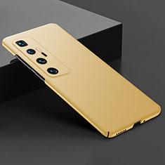 Xiaomi Mi 10 Ultra用ハードケース プラスチック 質感もマット カバー M03 Xiaomi ゴールド