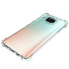 Xiaomi Mi 10T Lite 5G用極薄ソフトケース シリコンケース 耐衝撃 全面保護 クリア透明 カバー Xiaomi クリア