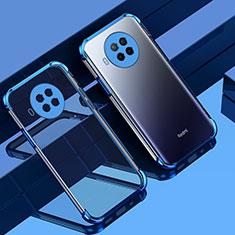 Xiaomi Mi 10T Lite 5G用極薄ソフトケース シリコンケース 耐衝撃 全面保護 クリア透明 S01 Xiaomi ネイビー