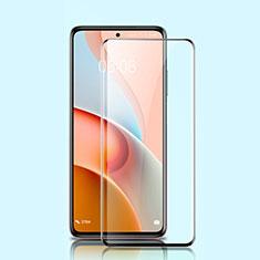 Xiaomi Mi 10T Lite 5G用強化ガラス フル液晶保護フィルム Xiaomi ブラック