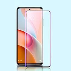 Xiaomi Mi 10T Lite 5G用強化ガラス フル液晶保護フィルム アンチグレア ブルーライト Xiaomi ブラック