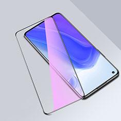 Xiaomi Mi 10T Pro 5G用強化ガラス フル液晶保護フィルム アンチグレア ブルーライト Xiaomi ブラック