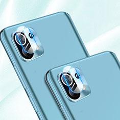 Xiaomi Mi 11 5G用強化ガラス カメラプロテクター カメラレンズ 保護ガラスフイルム Xiaomi クリア