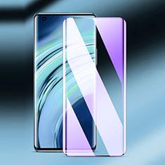 Xiaomi Mi 11 5G用強化ガラス フル液晶保護フィルム アンチグレア ブルーライト F02 Xiaomi ブラック