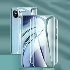 Xiaomi Mi 11 5G用高光沢 液晶保護フィルム 背面保護フィルム同梱 F01 Xiaomi クリア