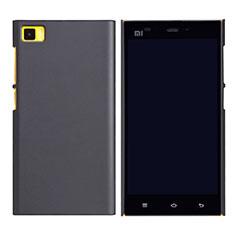 Xiaomi Mi 3用ハードケース プラスチック メッシュ デザイン Xiaomi ブラック