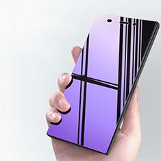 Xiaomi Mi 3用アンチグレア ブルーライト 強化ガラス 液晶保護フィルム Xiaomi ネイビー