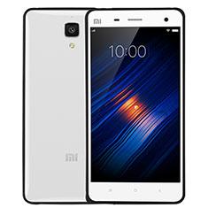 Xiaomi Mi 4 LTE用ハイブリットバンパーケース クリア透明 プラスチック Xiaomi ブラック