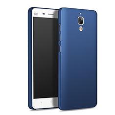 Xiaomi Mi 4 LTE用ハードケース プラスチック 質感もマット M01 Xiaomi ネイビー