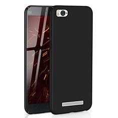 Xiaomi Mi 4C用ハードケース プラスチック 質感もマット M01 Xiaomi ブラック