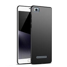 Xiaomi Mi 4C用ハードケース プラスチック 質感もマット M02 Xiaomi ブラック