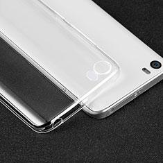 Xiaomi Mi 5用極薄ソフトケース シリコンケース 耐衝撃 全面保護 クリア透明 T05 Xiaomi クリア