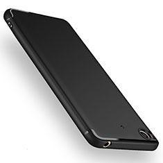 Xiaomi Mi 5S用極薄ソフトケース シリコンケース 耐衝撃 全面保護 Xiaomi ブラック