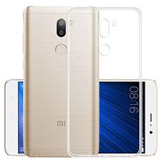 Xiaomi Mi 5S Plus用極薄ソフトケース シリコンケース 耐衝撃 全面保護 クリア透明 Xiaomi クリア