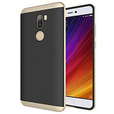 Xiaomi Mi 5S Plus用シリコンケース ソフトタッチラバー ツイル Xiaomi ゴールド