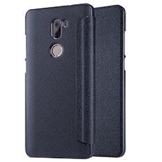 Xiaomi Mi 5S Plus用手帳型 レザーケース スタンド L01 Xiaomi ブラック