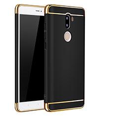 Xiaomi Mi 5S Plus用ケース 高級感 手触り良い メタル兼プラスチック バンパー Xiaomi ブラック