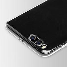 Xiaomi Mi 6用極薄ソフトケース シリコンケース 耐衝撃 全面保護 クリア透明 Xiaomi クリア