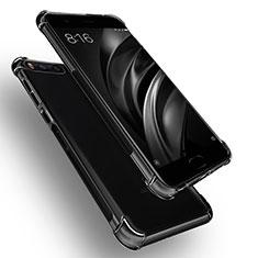 Xiaomi Mi 6用極薄ソフトケース シリコンケース 耐衝撃 全面保護 クリア透明 R01 Xiaomi クリア