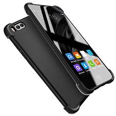 Xiaomi Mi 6用極薄ソフトケース シリコンケース 耐衝撃 全面保護 S08 Xiaomi ブラック