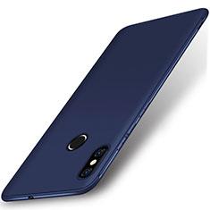 Xiaomi Mi 8用極薄ソフトケース シリコンケース 耐衝撃 全面保護 S02 Xiaomi ネイビー