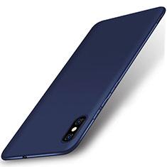 Xiaomi Mi 8 Explorer用極薄ソフトケース シリコンケース 耐衝撃 全面保護 S01 Xiaomi ネイビー