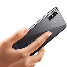 Xiaomi Mi 8 Explorer用極薄ソフトケース シリコンケース 耐衝撃 全面保護 クリア透明 T04 Xiaomi クリア