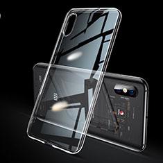 Xiaomi Mi 8 Explorer用極薄ソフトケース シリコンケース 耐衝撃 全面保護 クリア透明 H02 Xiaomi クリア