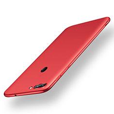 Xiaomi Mi 8 Lite用極薄ソフトケース シリコンケース 耐衝撃 全面保護 S01 Xiaomi レッド