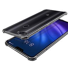 Xiaomi Mi 8 Lite用極薄ソフトケース シリコンケース 耐衝撃 全面保護 クリア透明 H01 Xiaomi クリア