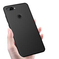 Xiaomi Mi 8 Lite用極薄ソフトケース シリコンケース 耐衝撃 全面保護 S02 Xiaomi ブラック