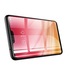 Xiaomi Mi 8 Lite用強化ガラス フル液晶保護フィルム Xiaomi ブラック