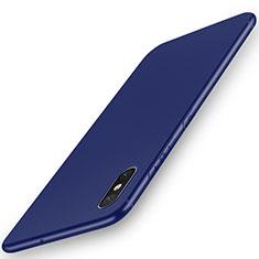 Xiaomi Mi 8 Pro Global Version用極薄ソフトケース シリコンケース 耐衝撃 全面保護 S03 Xiaomi ネイビー