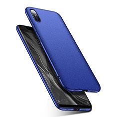 Xiaomi Mi 8 Screen Fingerprint Edition用ハードケース プラスチック 質感もマット M01 Xiaomi ネイビー