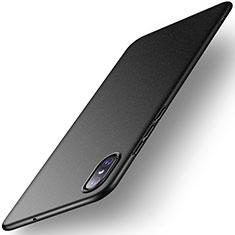 Xiaomi Mi 8 Screen Fingerprint Edition用ハードケース プラスチック 質感もマット M02 Xiaomi ブラック