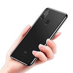 Xiaomi Mi 8 SE用極薄ソフトケース シリコンケース 耐衝撃 全面保護 クリア透明 T05 Xiaomi ブラック