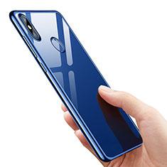 Xiaomi Mi 8 SE用極薄ソフトケース シリコンケース 耐衝撃 全面保護 クリア透明 T07 Xiaomi ネイビー