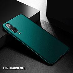 Xiaomi Mi 9用ハードケース プラスチック 質感もマット M01 Xiaomi グリーン