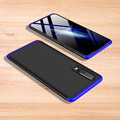 Xiaomi Mi 9 Lite用ハードケース プラスチック 質感もマット 前面と背面 360度 フルカバー Xiaomi ネイビー・ブラック