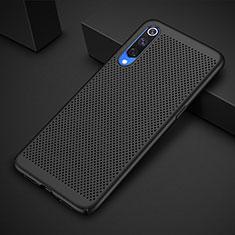 Xiaomi Mi 9 Lite用ハードケース プラスチック メッシュ デザイン カバー Xiaomi ブラック
