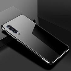 Xiaomi Mi 9 Lite用極薄ソフトケース シリコンケース 耐衝撃 全面保護 クリア透明 H08 Xiaomi ブラック