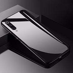 Xiaomi Mi 9 Pro 5G用ハイブリットバンパーケース プラスチック 鏡面 カバー Xiaomi ブラック