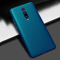 Xiaomi Mi 9T用ハードケース プラスチック 質感もマット M01 Xiaomi ネイビー